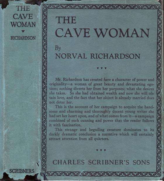 The Cave Woman. Norval RICHARDSON