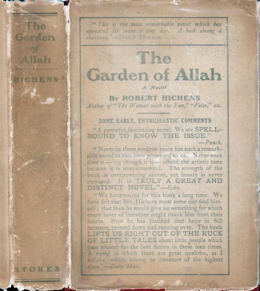 The Garden of Allah. Robert HICHENS
