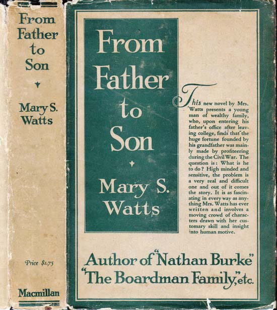 From Father To Son. Mary S. WATTS