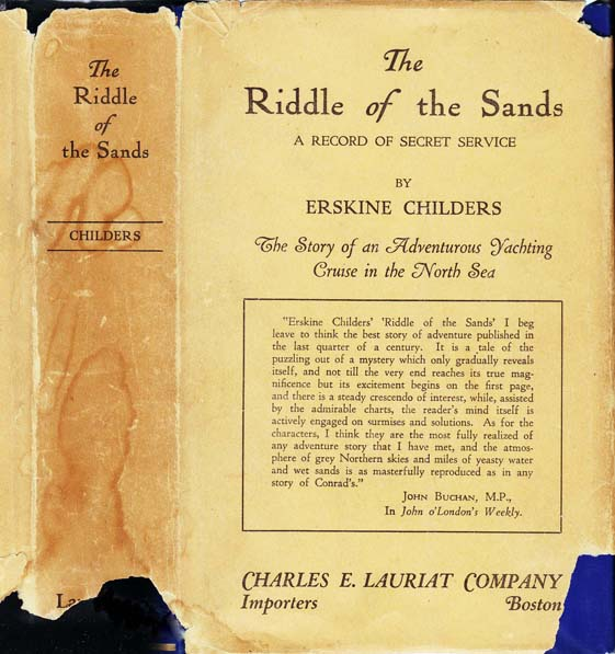 The Riddle of the Sands: A Record of the Secret Service. Erskine CHILDERS