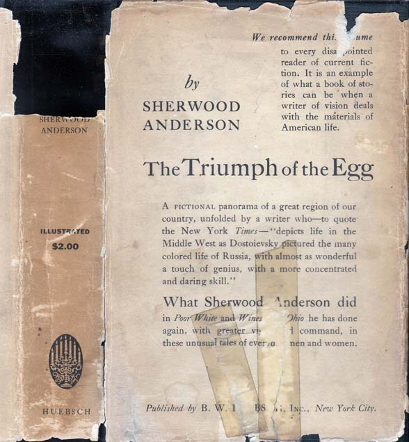 The Triumph of the Egg. Sherwood ANDERSON