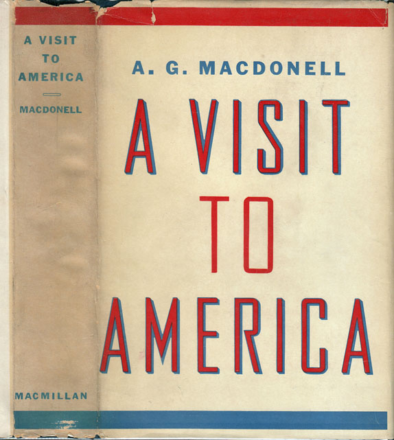A Visit to America. A. G. MACDONELL