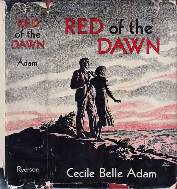 Red of the Dawn, A Story of a Minister and His Wife. Cecile Belle ADAM.