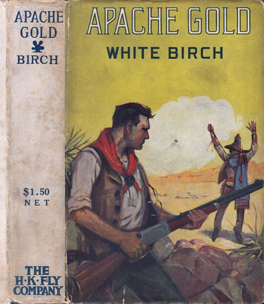 Apache Gold. White BIRCH.