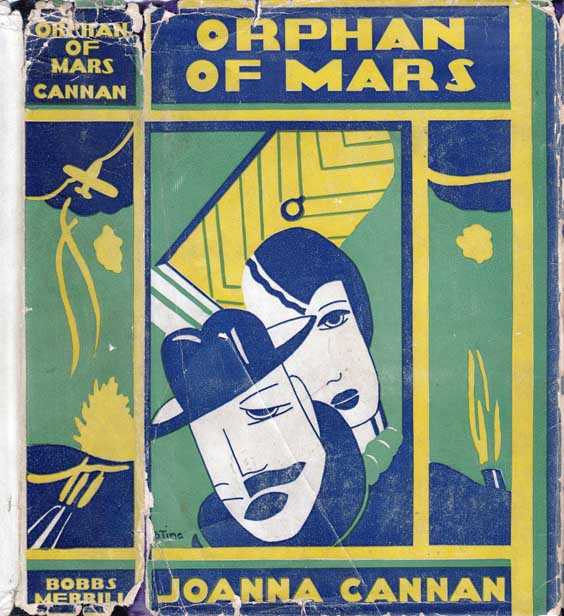 Orphan of Mars. Joanna CANNAN.
