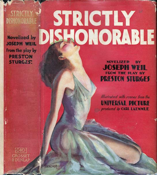 Strictly Dishonorable. Joseph WEIL, Preston STURGES