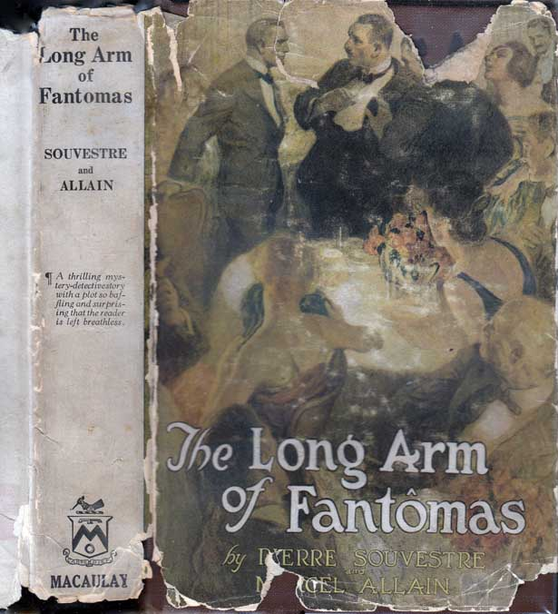 The Long Arm of Fantomas. Pierre SOUVESTRE, Marcel ALLAIN