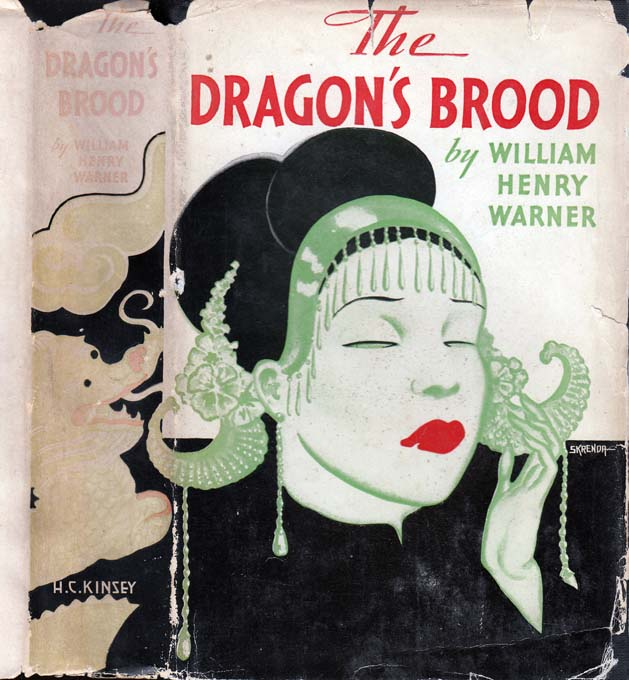The Dragon's Brood [INSCRIBED AND SIGNED]. William Henry WARNER