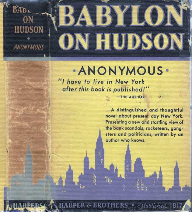 Babylon On Hudson. ANONYMOUS