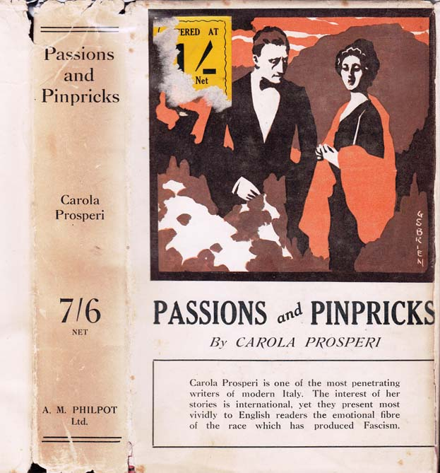 Passions and Pinpricks. Carola PROSPERI