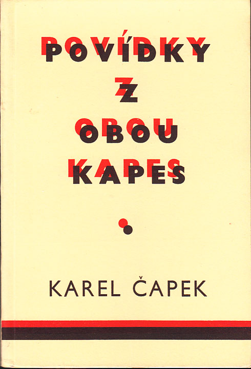 Povídky Z Obou Kapes [Stories from Both Pockets]. Karel APEK