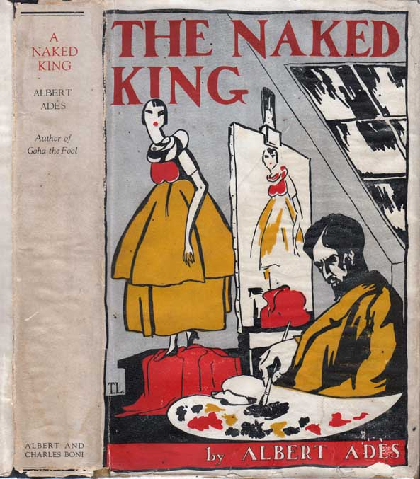 A Naked King. Albert ADES