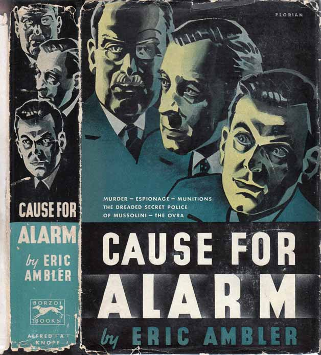 Cause For Alarm. Eric AMBLER