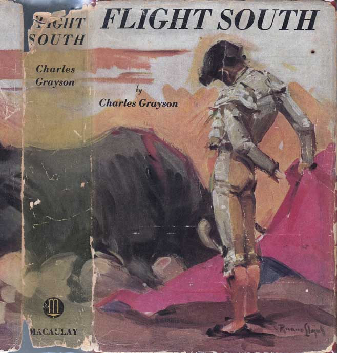 Flight South [SIGNED AND INSCRIBED]. Charles GRAYSON