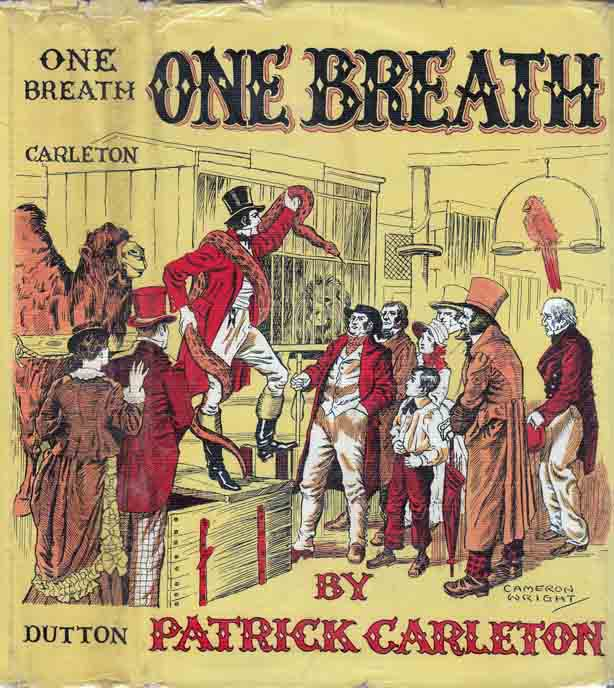 One Breath. Patrick CARLETON