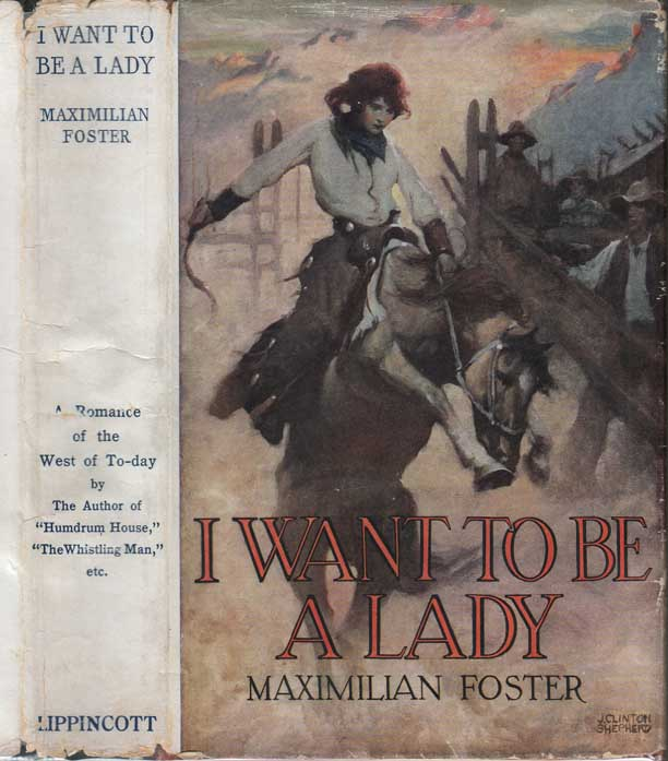I Want to Be a Lady. Maximilian FOSTER