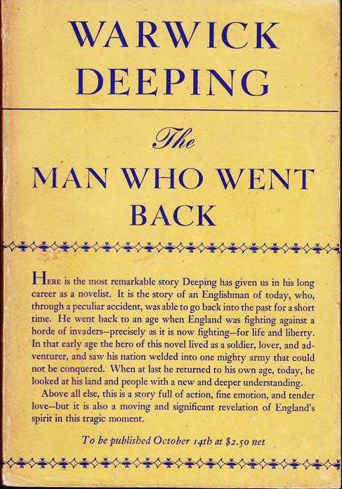 The Man Who Went Back. Warwick DEEPING