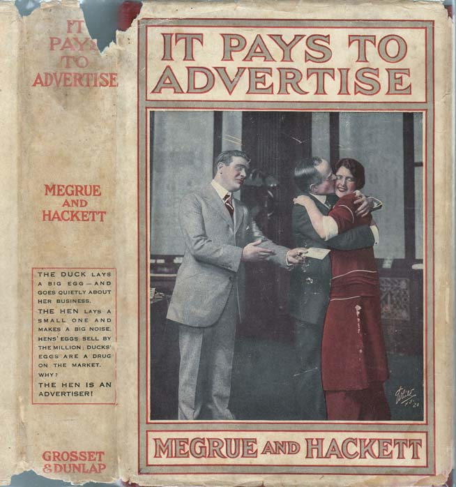It Pays to Advertise. Roi Cooper MEGRUE, Walter HACKETT