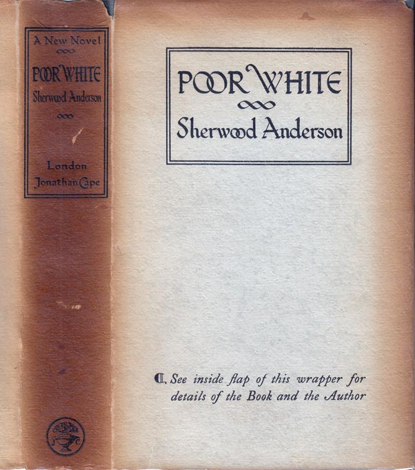 Poor White. Sherwood ANDERSON.