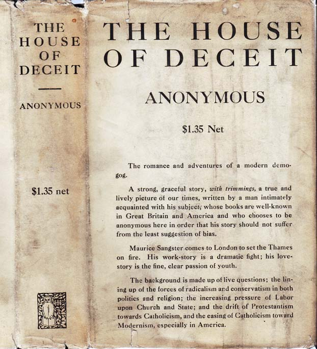The House of Deceit. ANONYMOUS