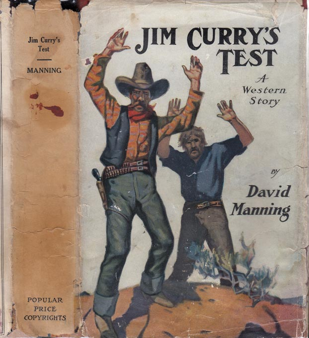 Jim Curry's Test. David MANNING, Max BRAND