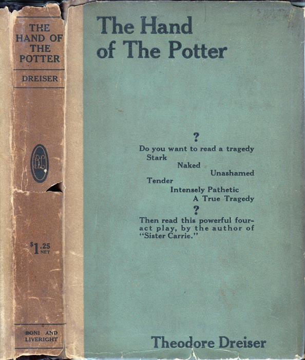 The Hand of the Potter. Theodore DREISER