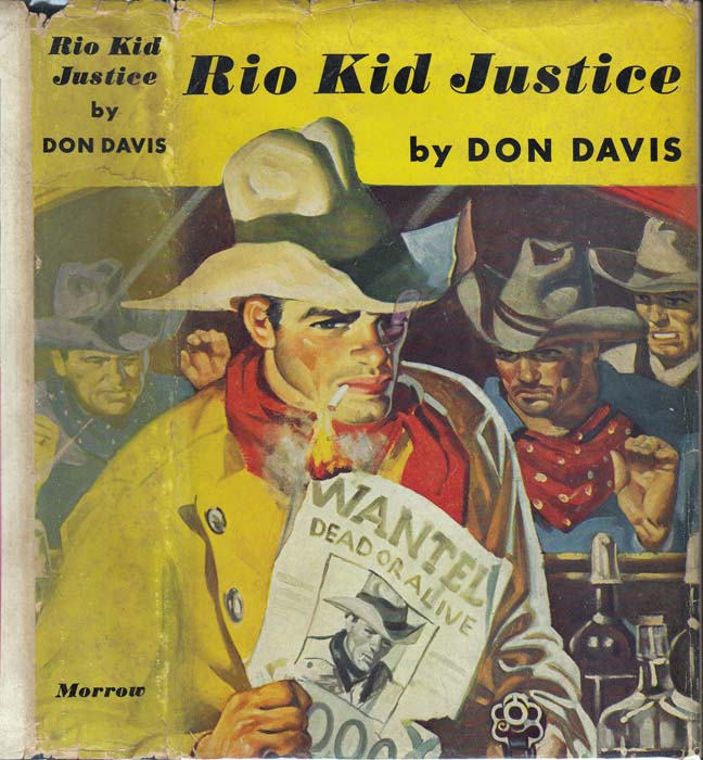 Rio Kid Justice. Don DAVIS, Brett HALLIDAY / David DRESSER.