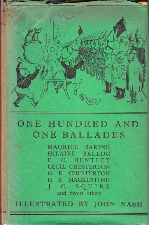 One Hundred and One Ballades. G. K. CHESTERTON, Hilaire BELLOC