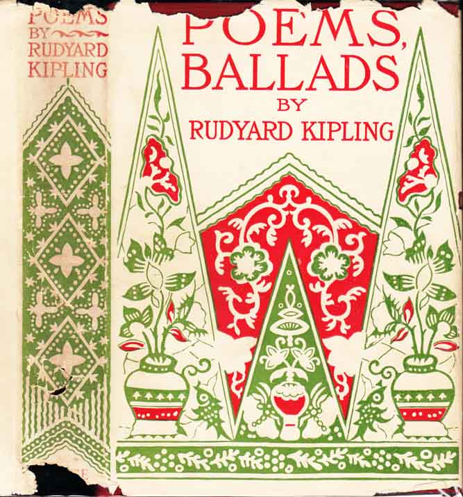 Poems and Ballads [PUBLISHER'S JACKET AND BOX]. Rudyard KIPLING