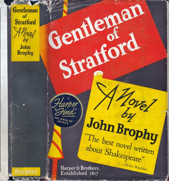 Gentleman of Stratford. John BROPHY.