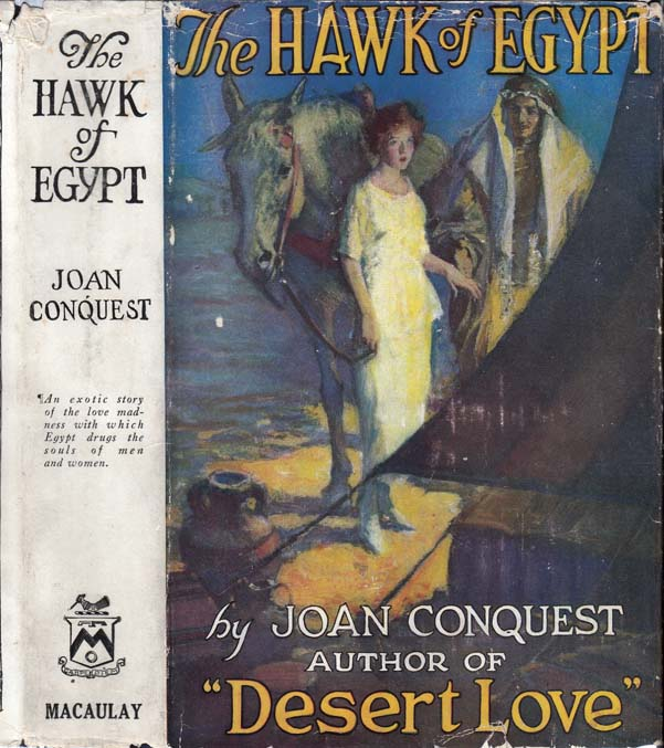 The Hawk of Egypt. Joan CONQUEST