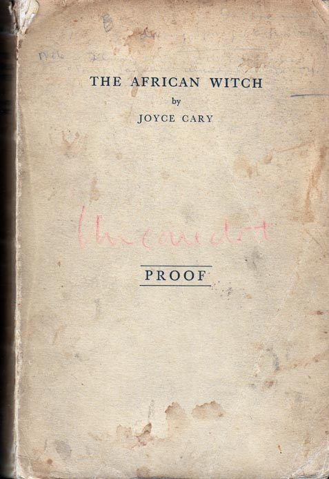 The African Witch. Joyce CARY.