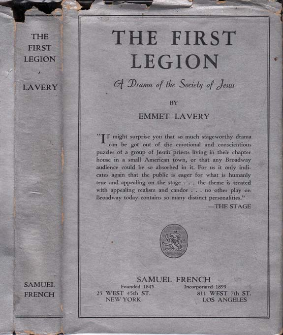The First Legion. Emmet LAVERY