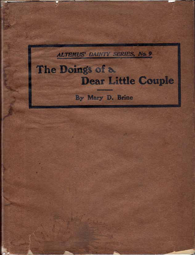 The Doings of a Dear Little Couple. Mary D. BRINE
