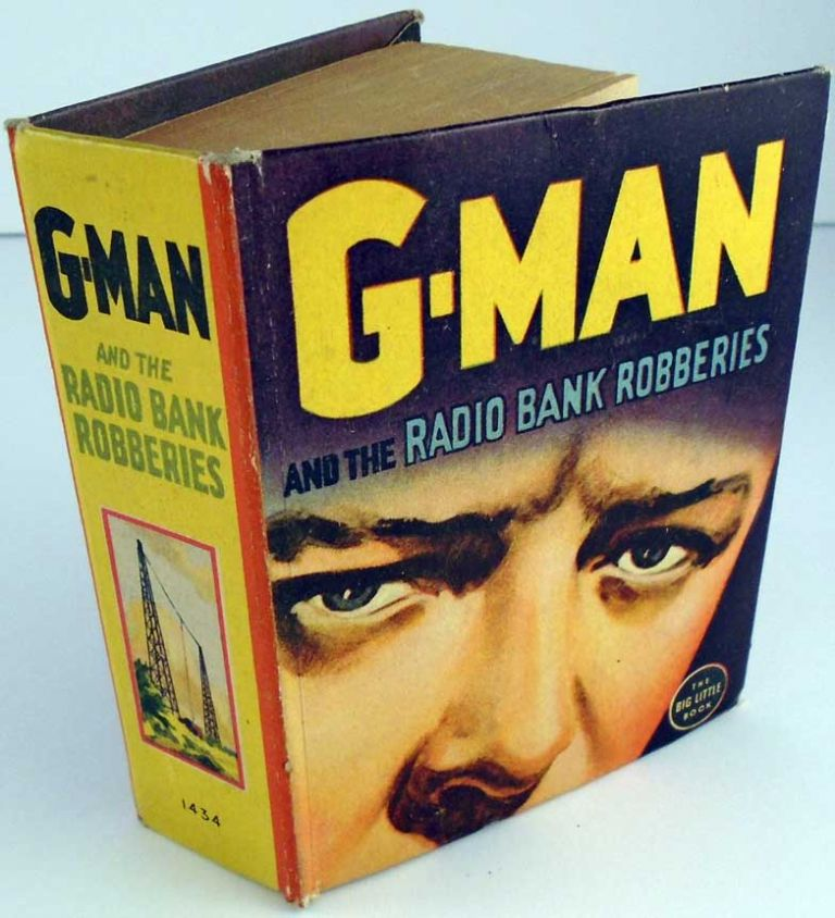 G-Man and the Radio Bank Robberies. Allen DALE