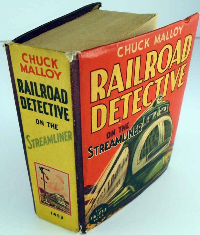 Chuck Malloy Railroad Detective on the Streamliner. Thorp McCLUSKY
