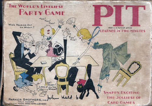 Pit, The World's Liveliest Party Game. John Jr HELD