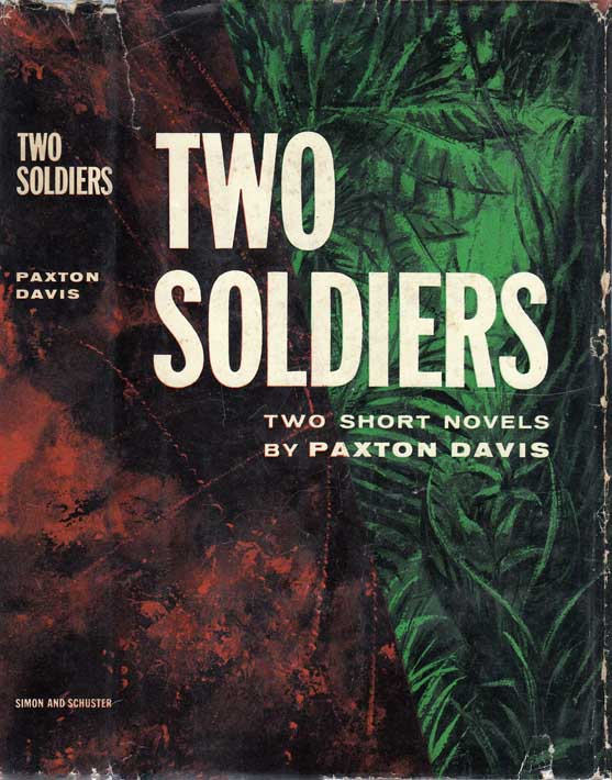 Two Soldiers [SIGNED AND INSCRIBED]. Paxton DAVIS