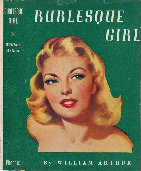 Burlesque Girl. William ARTHUR