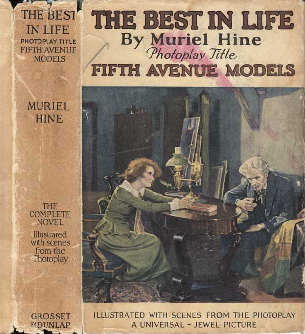 The Best in Life, Photoplay Title Fifth Avenue Models. Muriel HINE