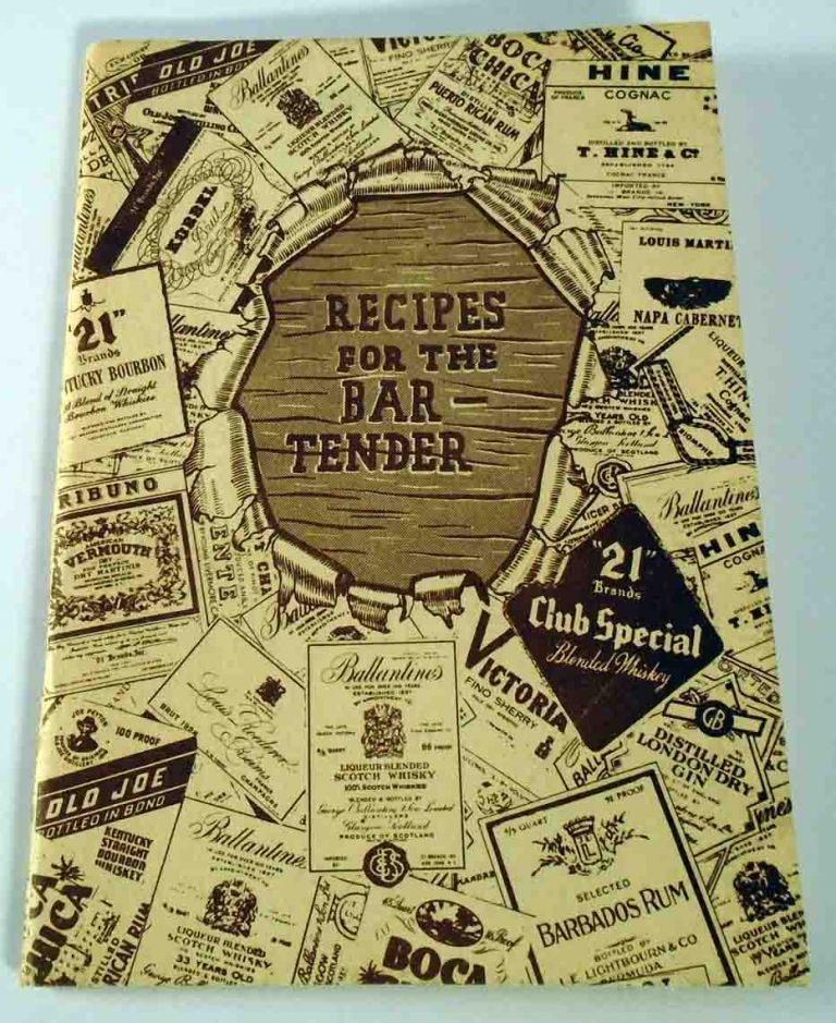 Recipes for the Bar-Tender. ANONYMOUS