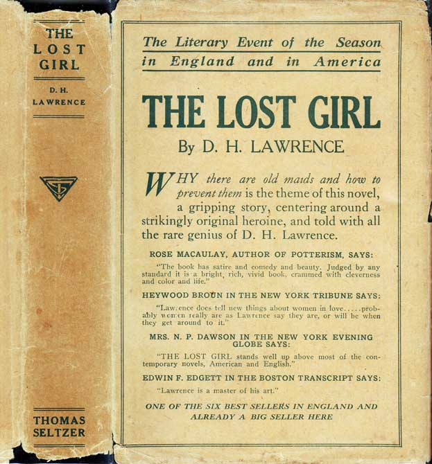 The Lost Girl. D. H. LAWRENCE.