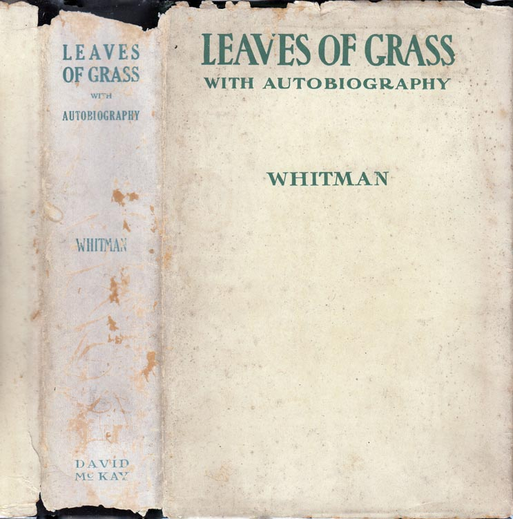 Leaves of Grass. Walt WHITMAN