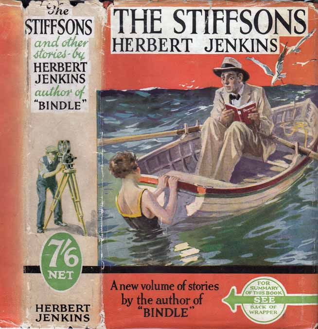 The Stiffsons and Other Stories [HOLLYWOOD FICTION]. Herbert JENKINS