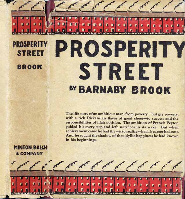 Prosperity Street. Barnaby BROOK