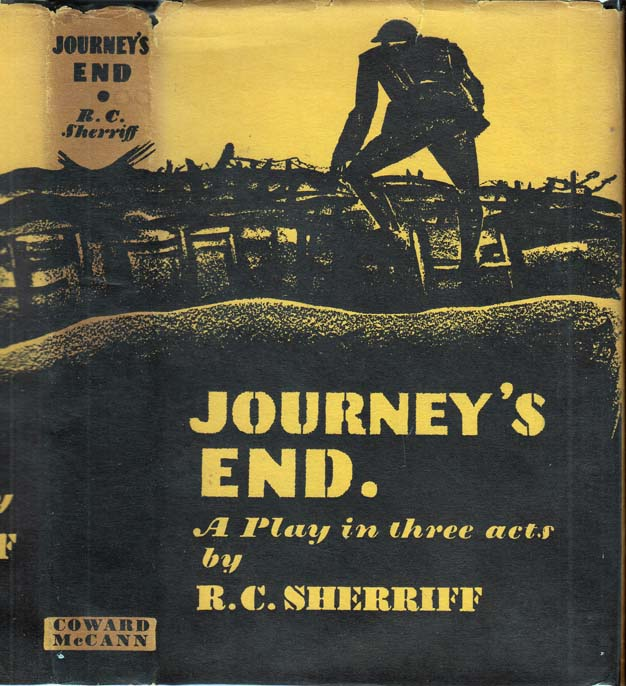 Journey's End, A Play in Three Acts [SIGNED BY ETHEL CLIFT]. R. C. SHERRIFF