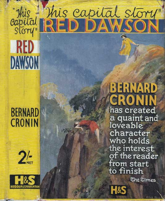 Red Dawson [SIGNED AND INSCRIBED] [AUSTRALIA FICTION]. Bernard CRONIN