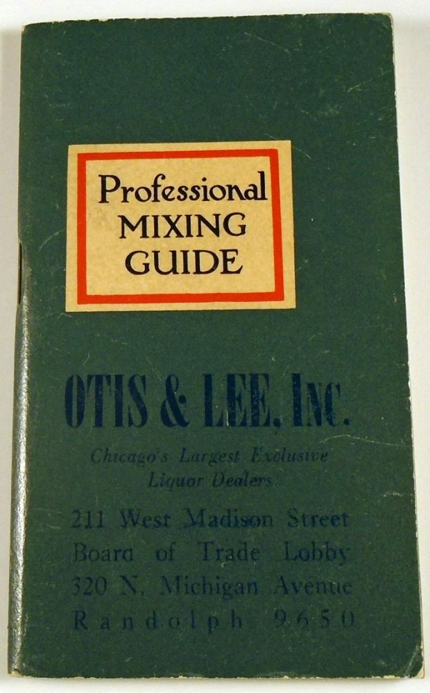 Professional Mixing Guide. ANONYMOUS.