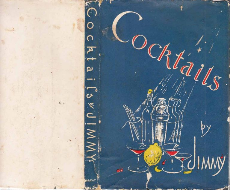 "Cocktails. COCKTAIL BOOK ""Jimmy"" Late of Ciro's London"