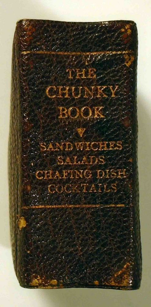The Chunky Book (The Tiny Book On Cocktails) [Miniature Book]. COCKTAILS